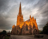 Warrington Parish Church — Stock Photo