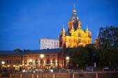 Upenski cathedral Helsinki Finland — Stock Photo