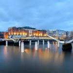 Bridges of Dublin Ireland — Stock Photo #70858761