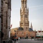 Belfry Tower Bruges Belgium — Stock Photo #79872422
