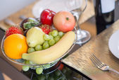 A basket of fruits — Stock Photo
