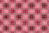 Red and black dot on pink background — ストック写真