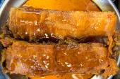 Dried fish with honey — Stok fotoğraf