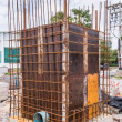 The construction site near to the sea — Stock Photo #69637397
