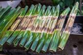 Kanom Jark, Thai sweetmeat made — Stock Photo