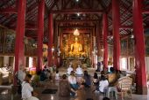 Chiang Mai Thailand,  Asaraha Busha day. — Stockfoto