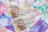 Hong Kong Dollar currency — Stock Photo