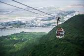 HONG KONG, JUNE 09, Ngong Ping 360 is a tourism project on Lanta — Stockfoto