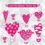 Valentine postcard. — Stock Vector #59965047