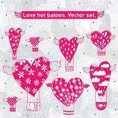 Cartão postal dos namorados. — Vetorial Stock