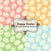 Happy Easter postcards — Stock Vector