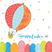 Colorful Easter card. — Stock Vector