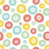 Colorful polka dot — Stock Vector