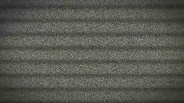 Television Tv Screen White Noise Static stripes — Stock Video