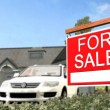 Home For Sale Real Estate Sign — Stock Photo #70291647