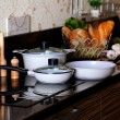 Pots in the interior — Stockfoto #61816089
