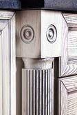 Furniture item in retro style column — Stockfoto
