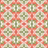 Red-green wrapping paper — Stock Vector