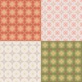Red-green wrapping paper — Vector de stock