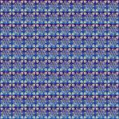 Dark blue wrapping paper — Stock Vector