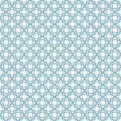 Blue geometric traditional arabic pattern — Stock Vector