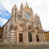 Siena Cathedral, Duomo di Siena, Italy — Stock Photo