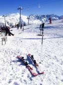 Ski slopes in Bansko, Bulgaria — Stock Photo