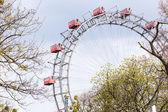 Prater Wheel, Vienna, Austria — Stock Photo
