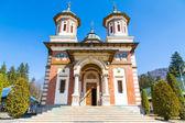 The church at Sinaia Monastery, Romania — Stock Photo
