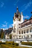 Beautiful former royal Peles castle, Sinaia, Romania — Stock Photo