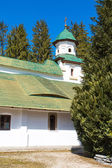 Partial view of the old church at Sinaia Monastery, Romania — ストック写真