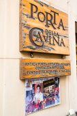 Film location of The Twilight Saga: New Moon in Montepulciano, Italy — Stock Photo