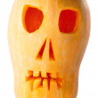 Skull Pumpkin Halloween Jack O Lantern — Stock Photo #54408379