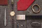 Men accessories — Stock Photo
