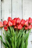 Tulips for mother — Stock Photo