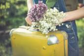 Viaggiatore di primavera — Foto Stock