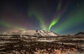 L'aurora boreale — Foto Stock