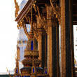 Temple of the emerald Buddha in Bangkok on the background of blue sky — Stock Photo #64051603