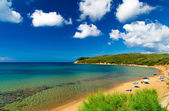 View of Baratti beach, Livorno, Tuscany Italy — Stock Photo