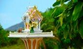 Spirit House in Thailand — Stock Photo