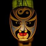Traditional Japanese lantern — Stock Photo #66797983