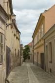 Old street in Znojmo — Stock Photo