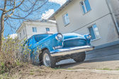 Spring fever of old classic car — Foto de Stock