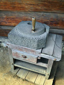 Hand millstone — Stock Photo