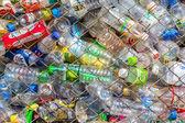 Plastic bottle in case — Stock Photo