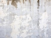 Concrete grey wall background — Stock Photo