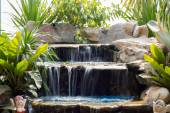 Little waterfall in park in thailand — Stockfoto