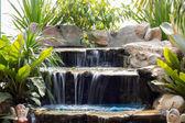 Little waterfall in park in thailand — Foto Stock
