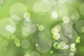 Natural green background, with bokeh — Stock Photo