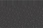 Binary computer code background — Stock Photo